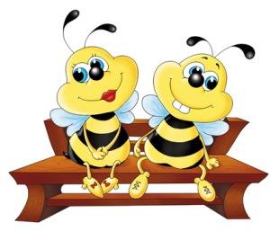 картинки для детей.пчелки